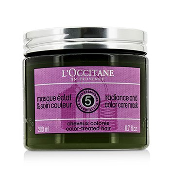 L'Occitane Aromachologie Radiance and Color Care Mask (For Color-Treated Hair)  200ml/6.7oz