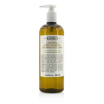 Kiehl's Calendula Deep Cleansing Foaming Face Wash  500ml/16.9oz
