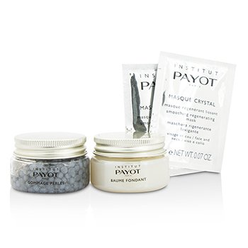 Supreme Experience Set: Gommage Perles 30g/1.05oz + Baume Fondant 30g/1.05oz + Masque Crystal 10applications  12pcs