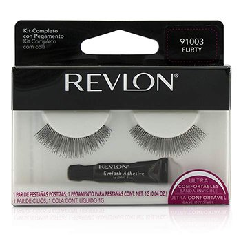 False Eyelashs (Adhesive Included)  -