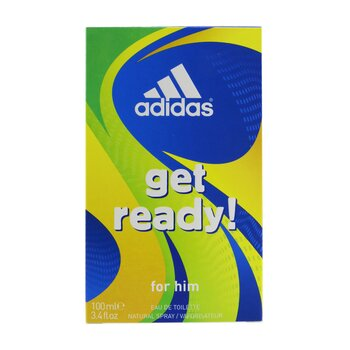 Get Ready Eau De Toilette Spray  100ml/3.4oz