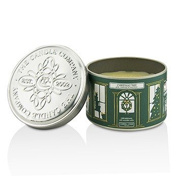 Tin Can Candle - Beeswax, Christmas Tree  (8x5) cm