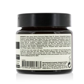 Elemental Facial Barrier Cream  60ml/2oz