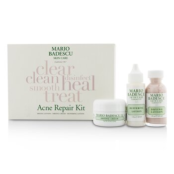 Acne Repair Kit: Drying Lotion 29ml + Drying Cream 14g + Buffering Lotion 29ml 3pcs