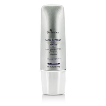 Total Defense + Repair SPF 50+ - 80 Minutes Water Resistant  65g/2.3oz