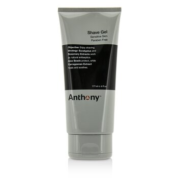 Anthony Logistics For Men Shave Gel (Sensitive Skin)  177ml/6oz