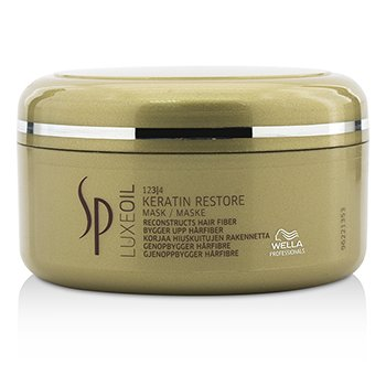 Wella SP Luxe Oil Keratin Restore Mask (Reconstructs Hair Fiber)  150ml/5oz