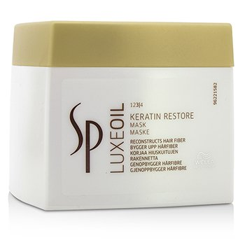 SP Luxe Oil Keratin Restore Mask (Reconstructs Hair Fiber)  400ml/13.5oz