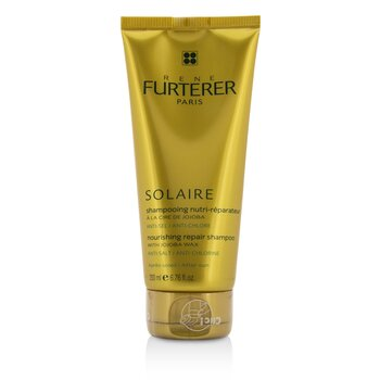 Solaire Nourishing Repair Shampoo with Jojoba Wax - After Sun  200ml/6.76oz