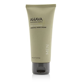 Ahava Time To Energize Mineral Hand Cream (All Skin Type; Unboxed)  100ml/3.4oz