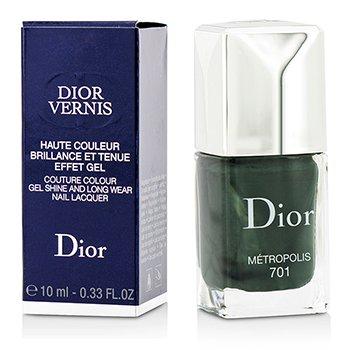 Christian Dior Dior Vernis Couture Colour Gel Shine & Long Wear Nail Lacquer - # 701 Metropolis  10ml/0.33oz