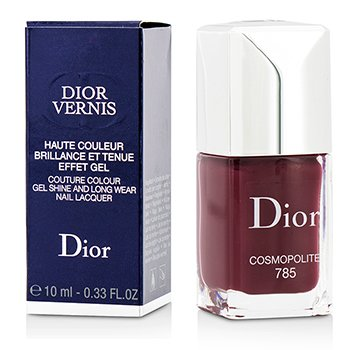 Christian Dior Dior Vernis Couture Colour Gel Esmalte Uñas Brillo & Larga Duración- # 785 Cosmopolite  10ml/0.33oz