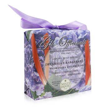 Gli Officinali Soap - Hydrangea & Rhubarb - Tonic & Energizing  200g/7oz
