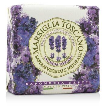 Marsiglia Toscano Triple Milled Vegetal Soap - Lavanda Toscana  200g-7oz