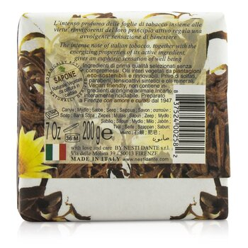 Marsiglia Toscano Triple Milled Vegetal Soap - Tabacco Italiano  200g/7oz