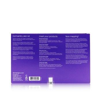 Normal/ Dry Skin Kit: Cleanser + Toner + Smoothing Cream + Exfoliant + Eye Reapir 5pcs