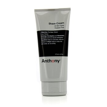 Anthony Logistics For Men Crema De Afeitar  177ml/6oz