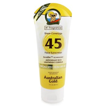 Sheer Coverage Faces Sunscreen Broad Spectrum SPF 45  88ml/3oz