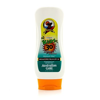 Australian Gold Lotion Sunscreen Broad Spectrum SPF 30 - For Kids  237ml/8oz