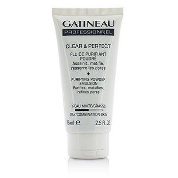 Gatineau Clear & Perfect Purifying Powder Emulsión (Para Piel Grasa/Mixta) (Tamaño Salón)  75ml/2.5oz