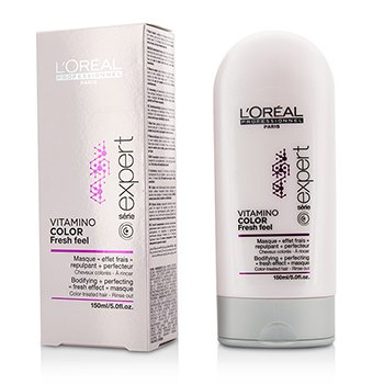 Professionnel Expert Serie - Vitamino Color Fresh Feel Bodifying + Perfecting <Fresh Effect> Masque - Rinse Out  150ml/5oz