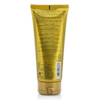 Solaire ג'ל רחצה מזין עם שעוות חוחובה (לשיער ולגוף) 200ml/6.76oz