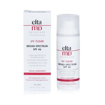 UV Clear Facial Sunscreen - For Skin Types Prone To Acne, Rosacea & Hyperpigmentation  48g/1.7oz