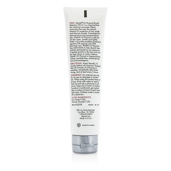 UV Physical Water-Resistant Facial Sunscreen SPF 41 - For Extra-Sensitive & Post-Procedure Skin  85g/3oz