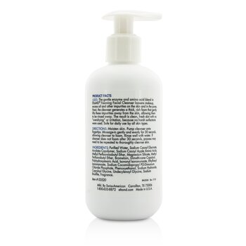 Gentle Enzyme Foaming Facial Cleanser  207ml/7oz