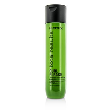 Total Results Curl Please Jojoba Oil Shampoo (For Nurturing Curls)  300ml/10.1oz