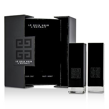 Le Soin Noir L'Extrait: L'Extrait Day Serum 15ml/0.5oz + L'Extrait Night Serum 15ml/0.5oz  2pcs