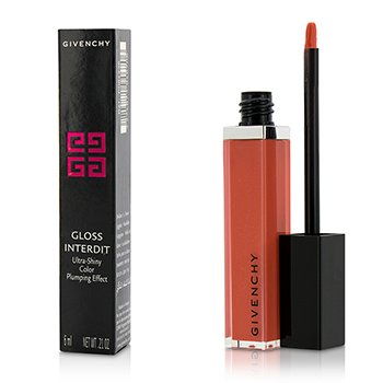 Givenchy Gloss Interdit Color Ultra Brillante Efecto Densificante - # 26 Blooming Coral  6ml/0.21oz