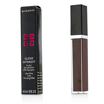 Givenchy Gloss Interdit Color Ultra Brillante Efecto Densificante - # 31 Lune Carmin  6ml/0.21oz