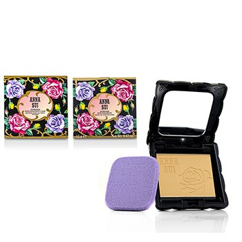 Anna Sui Powder Foundation SPF 20 (Case & Refill) - # 202  12g/0.42oz