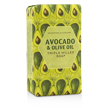 Crabtree & Evelyn Avocado & Olive Oil Triple Milled Soap  158g/5.57oz