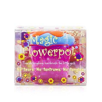 タングルティーザー Magic Flowerpot Children's Detangling Hair Brush - # Popping Purple  1pc