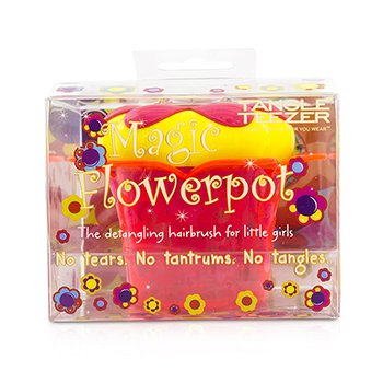 Magic Flowerpot Children's Detangling Hair Brush - # Princess Pink  1pc