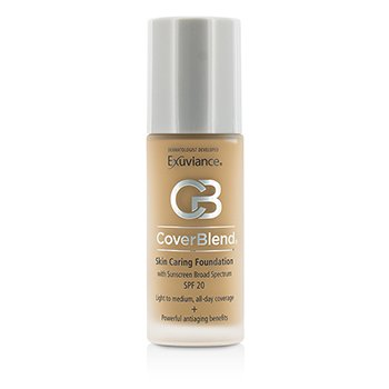 修飾護膚粉底液 SPF20 CoverBlend Skin Caring Foundation SPF20  30ml/1oz