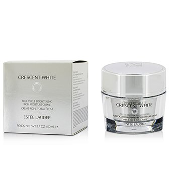 Estee Lauder Crescent White Full Cycle Brightening Crema Humectaci�n Rica  50ml/1.7oz