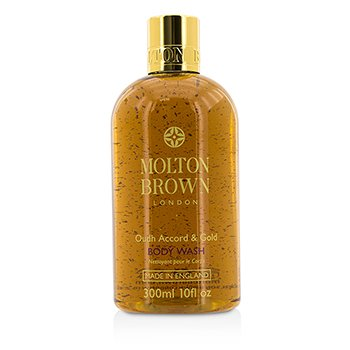Molton Brown Oudh Accord & Gold Body Wash  300ml/10oz