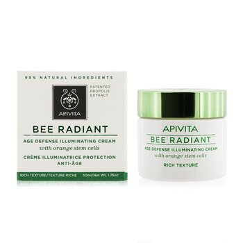 Bee Radiant Age Defense Illuminating Cream - Rich Texture  50ml/1.76oz