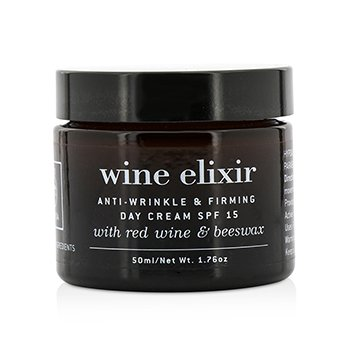 Wine Elixir Anti-Wrinkle & Firming Day Cream SPF 15 With Red Wine & Beeswax  50ml/1.76oz