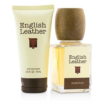 English Leather Coffret: Cologne Splash 100ml/3.4oz + After Shave Balm 74ml/2.5oz  2pcs
