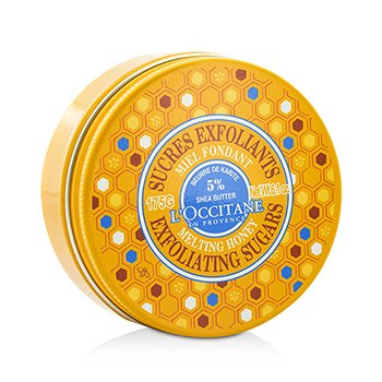 Shea Melting Honey Exfoliating Sugars  175g/6.1oz