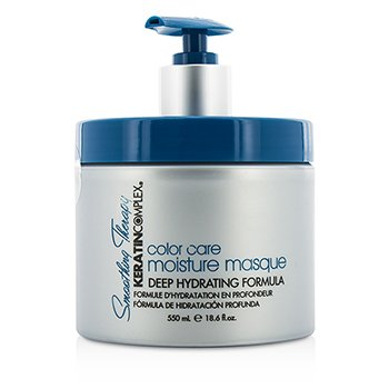 Keratin Complex Smoothing Therapy Keratin Color Care Mascarilla Humectante (Fórmula Hidratación Profunda)  550ml/18.6oz