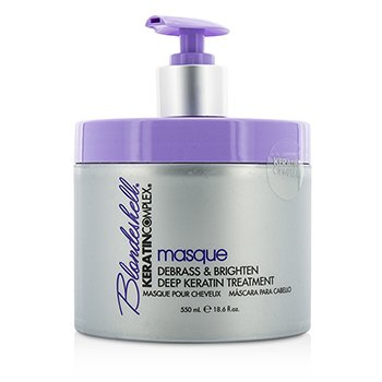Blondeshell Masque (Debrass & Brighten Deep Keratin Treatment)  550ml/18.6oz