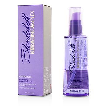 Keratin Complex Blondeshell Enhance High Shine Brightening Oil  100ml/3.4oz