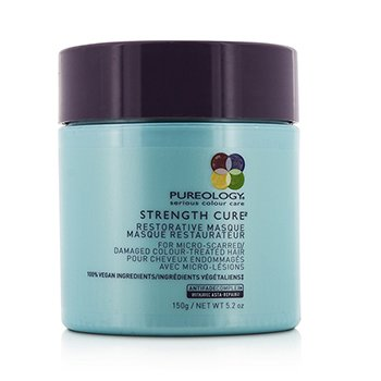 Strength Cure Restorative Masque (For Micro-Scarred/ Damaged Colour-Treated Hair)  150ml/5.2oz