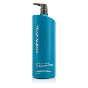 Keratin Complex Smoothing Therapy Keratin Color Care Acondicionador (Para todo Tipo de Cabellos)  1000ml/33.8oz