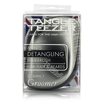 タングルティーザー Compact Styler Mens' Compact Groomer Detangling Hair Brush (For Hair & Beards)  1pc